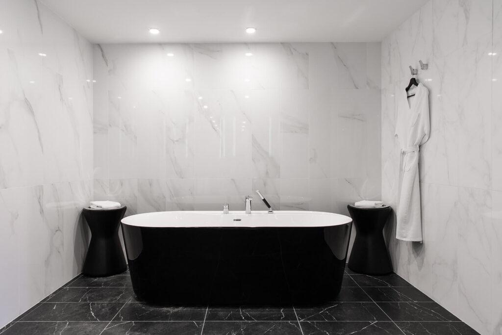 QBuild Exeter Modern stylish Bathroom installation