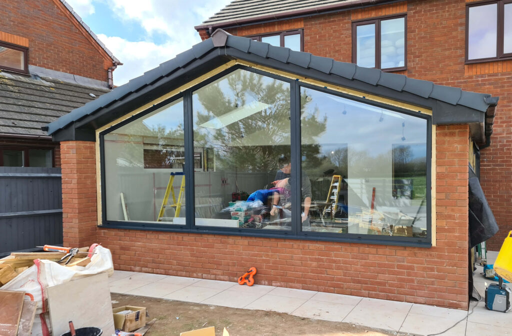 QBuild Extension with large window in Exeter
