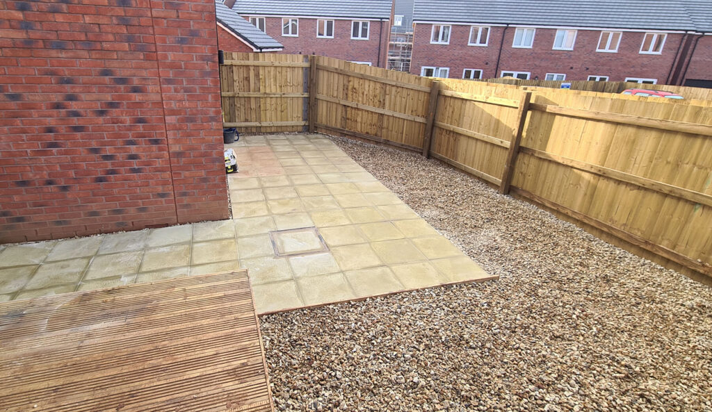 QBuild Stone landscaping patios & fencing in Exeter