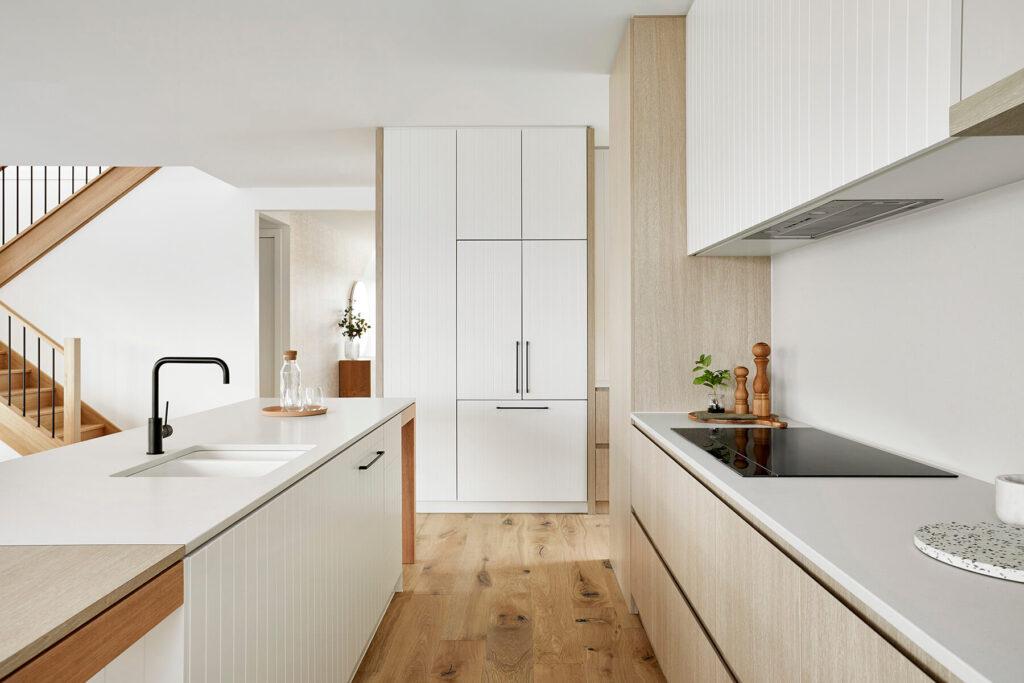 QBuild contemporary kitchen design, build & installation in Exeter