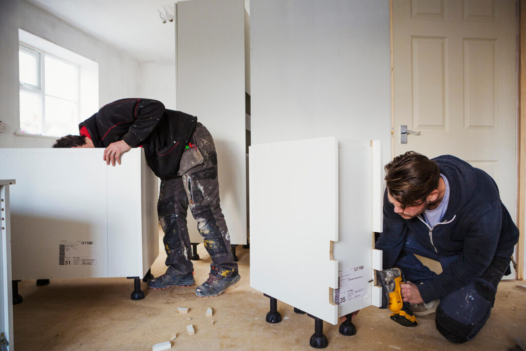 QBuild kitchen fitters for design, build & installation in Exeter