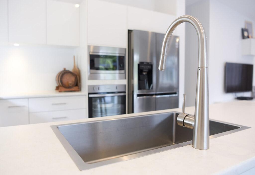 QBuild modern kitchen design, build & installation in Exeter