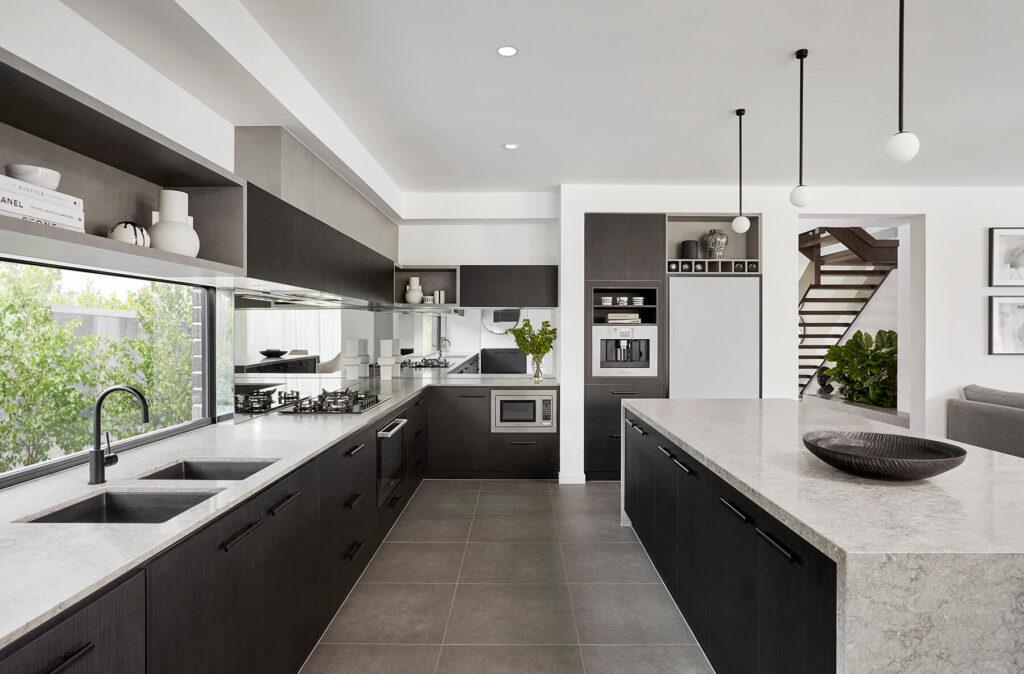 QBuild stylish modern kitchen design, build & installation in Exeter, Devon