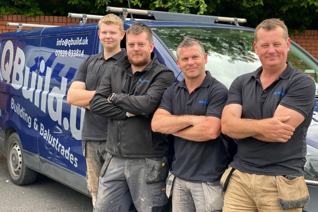 Qbuild & Balustrades Team - building and home improvement services Exeter, Devon